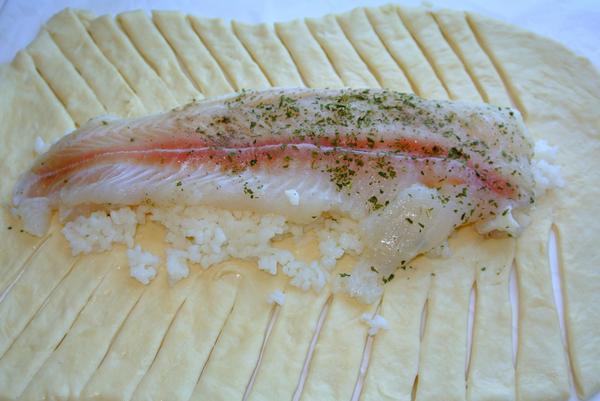 Шаг 8 - добавьте рыбу