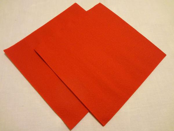 Салфетки для изготовления сердечек