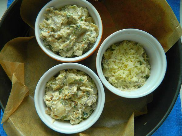 Ингредиенты для салата из дайкона