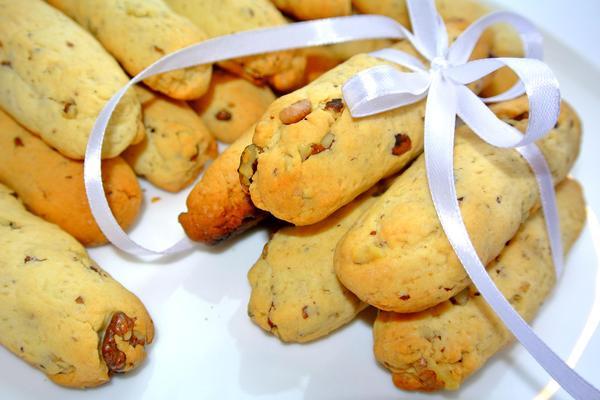 Ореховые палочки - печенье на десерт