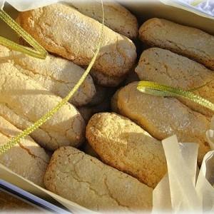 Бисквитное французское печенье