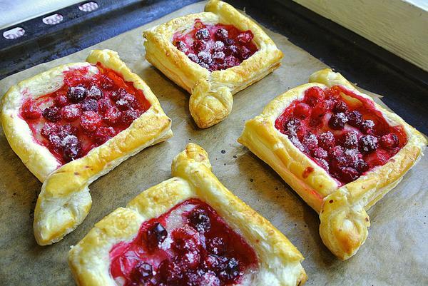 Ватрушки ягодами рецепт фото