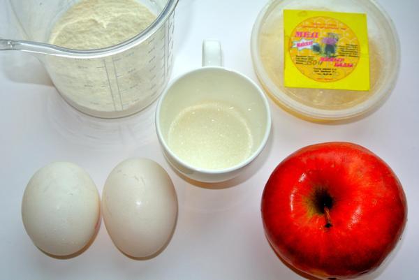 Ингредиенты для торта-суфле