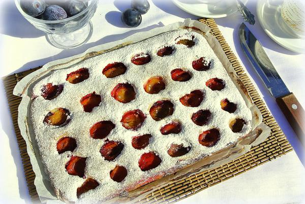 Вкусный пирог со сливами - шаг 8