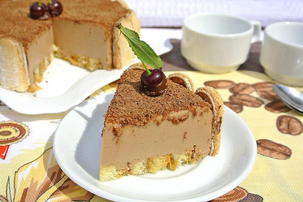 Торт-суфле без выпечки - итоговое фото