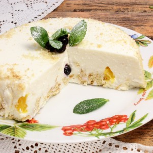 Творожный торт без выпечки