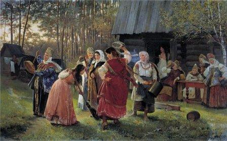 Алексей Корзун. Девичник, 1889 год.