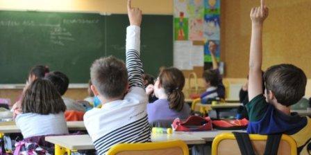 Обычный урок во французской школе