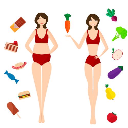 Какими продуктами питаться для здоровья и стройности - иллюстрация