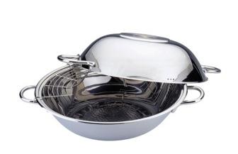 Сковорода вок с 4-слойным теплосберегающим дном