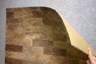 Материал из натуральной пробки для стен
