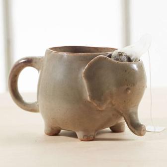 Кружка для чая в виде слона