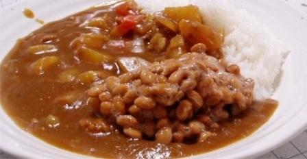 Натто с рисом