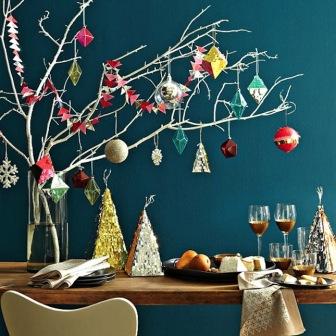 Новогоднее декоративное деревце