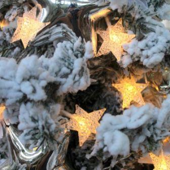 Новогодний декор снег
