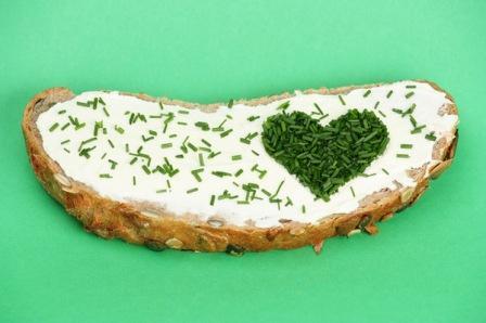 Бутерброд на День влюбленных