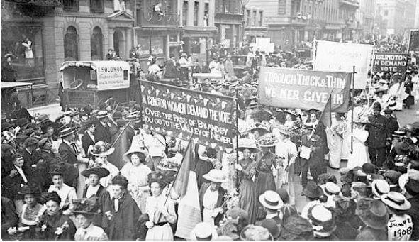 1908womensmarchNYC