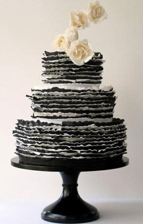 black-white-wedding-cake-maggie-austin
