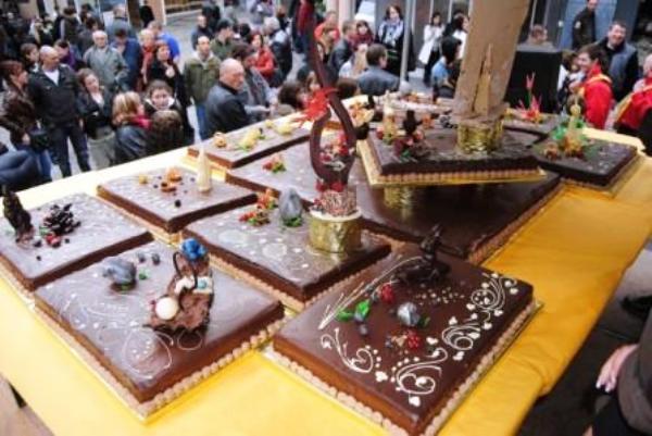 Праздник шоколада во Франции