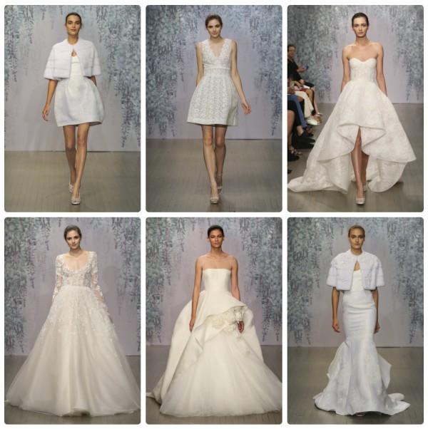 Коллекция свадебных платьев Monique Lhuillier 2016