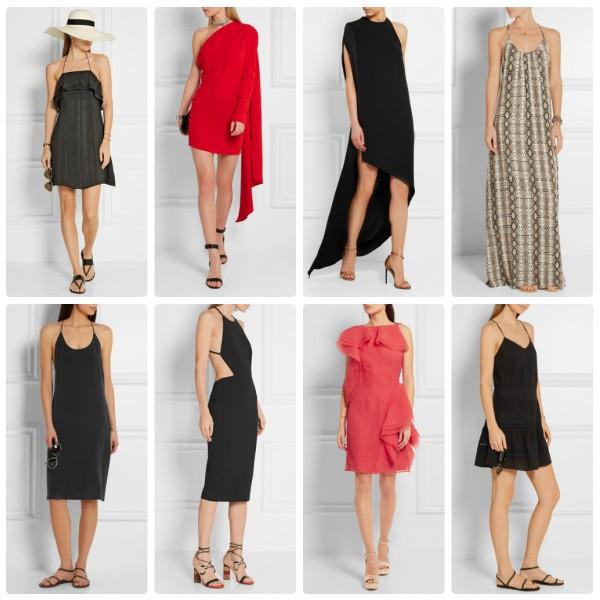 Модные летние платья 2016 с открытыми плечами