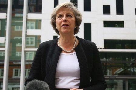 Тереза Мэй, министр внутренних дел, выступает против выхода Великобритании из ЕС