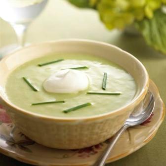 Вишисуаз - суп-пюре из картофеля и лука