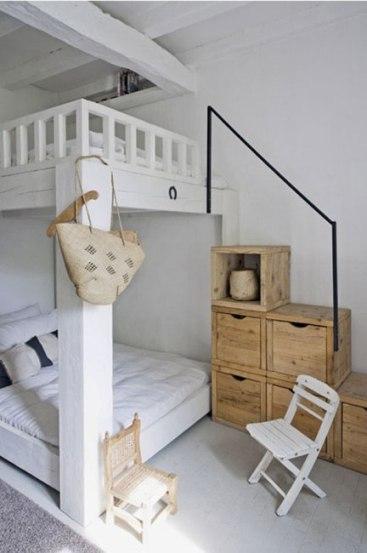 Двухуровневая спальня