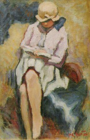 Пьер Шартье. Читающая женщина