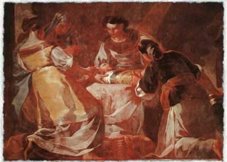 Франциско Гойя. Рождение Богоматери