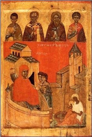 Икона Рождество Богоматери