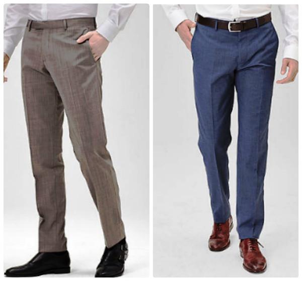 Мужские брюки для офиса