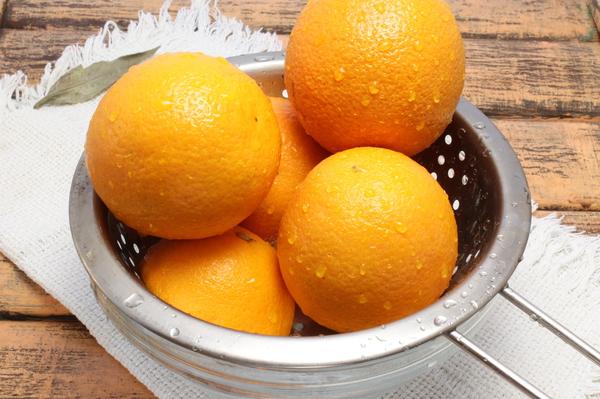 Апельсиновый джем - шаг 1