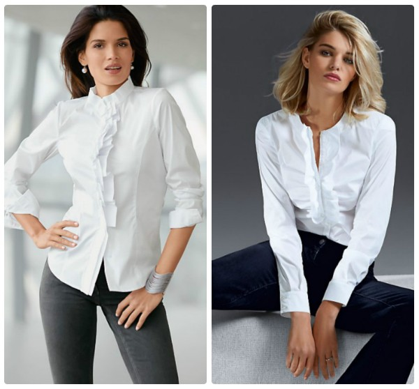 Модные Белые Блузки 2015 Доставка