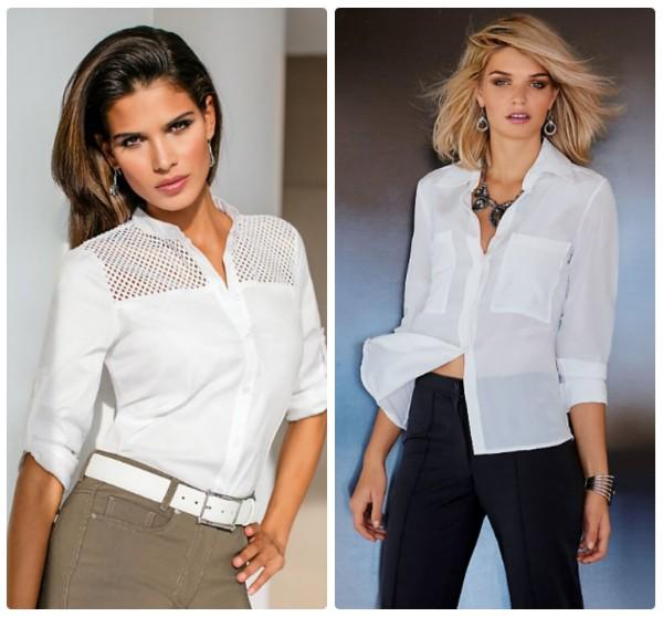 Белые Блузки Модные