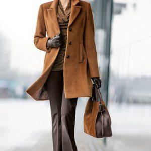 Модные женские пальто осени