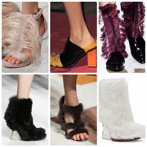 Модная обувь 2016-2017 с мехом