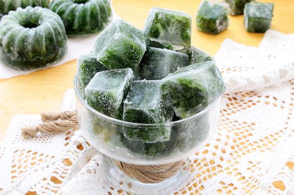 Зелень на зиму замороженная