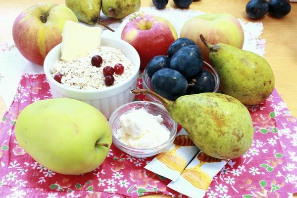 рецепты запеченных фруктов в духовке
