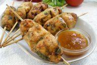 Люля-кебаб, приготовленные в духовке