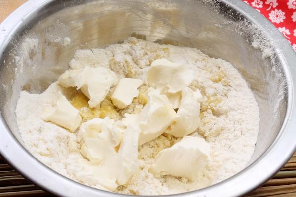Корзиночки с яблоками в карамели  кулинарный рецепт
