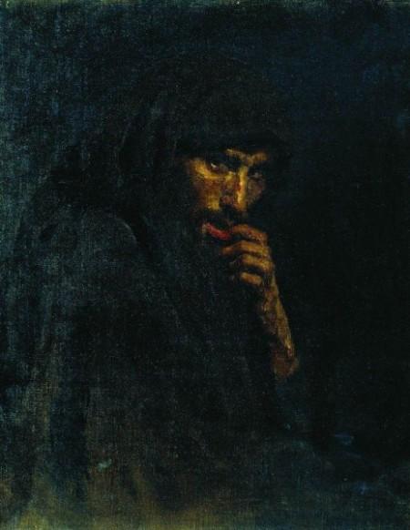 Илья Репин. Иуда. Картина