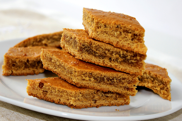 Карамельное печенье с имбирем