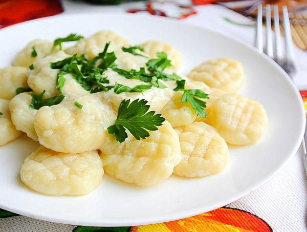 Картофельные клецки, или галушки