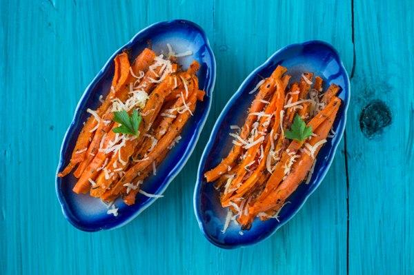 Морковь фри в духовке