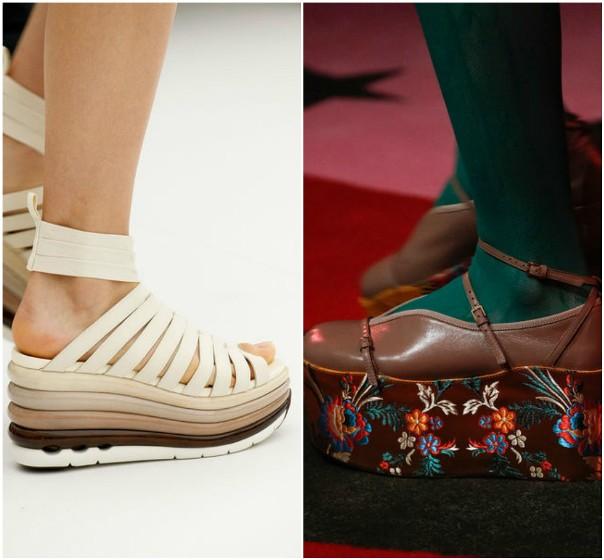 Модная женская обувь 2017