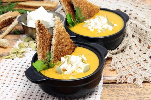Суп из тыквы и моркови