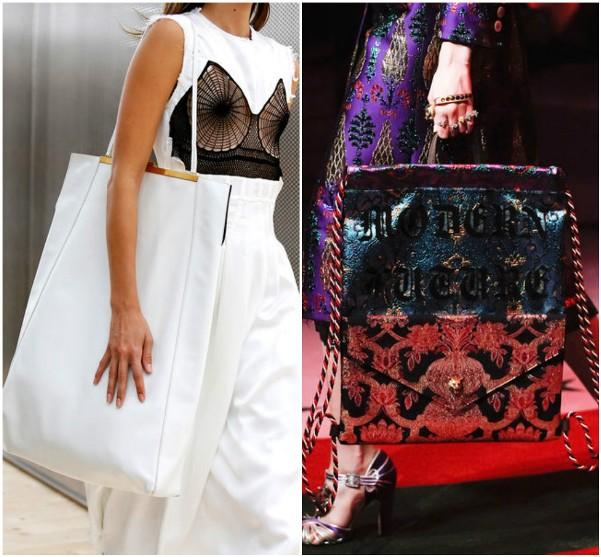 Большие сумки Celine, Gucci
