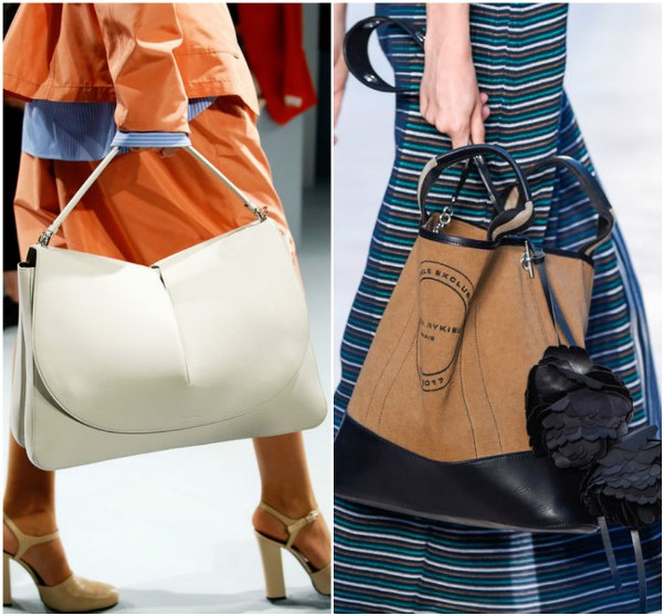 Большие сумки Jil Sander, Sonia-Rykiel