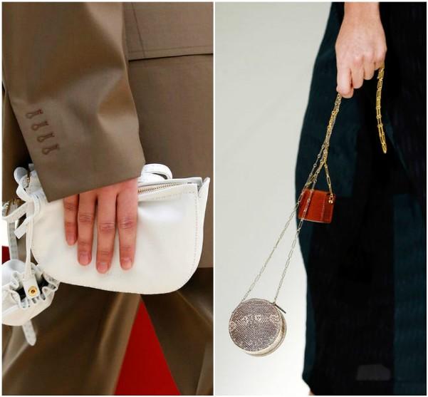 Маленькие сумки Celine, Hermes